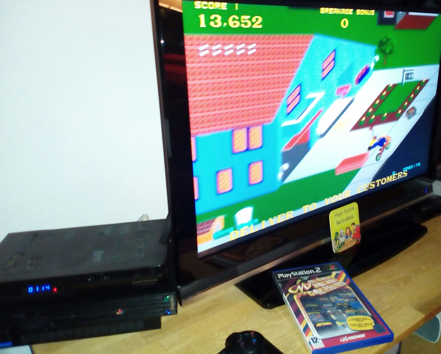 Midway Arcade Treasures: Paperboy 13,652 points