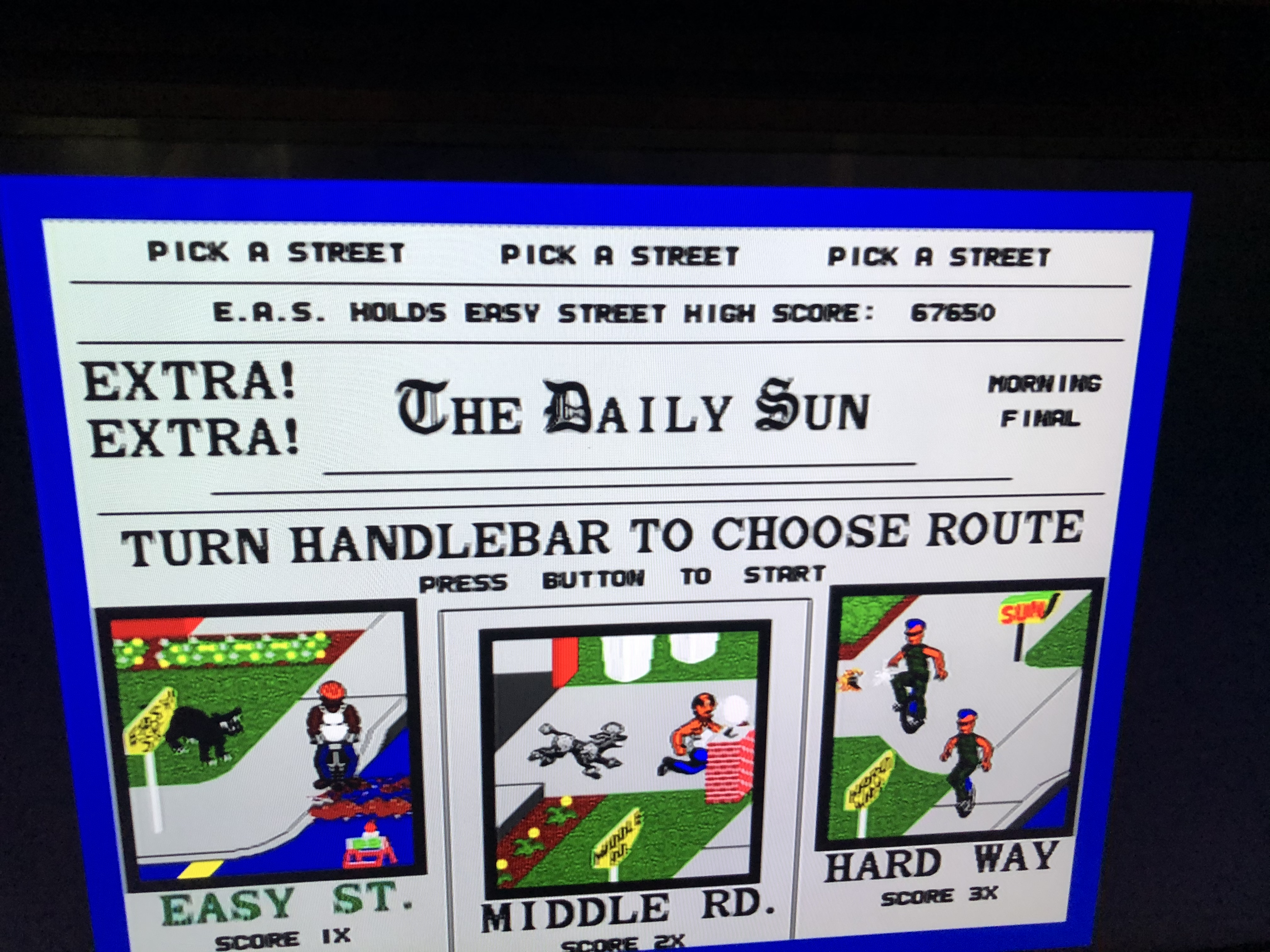 Midway Arcade Treasures: Paperboy 67,650 points