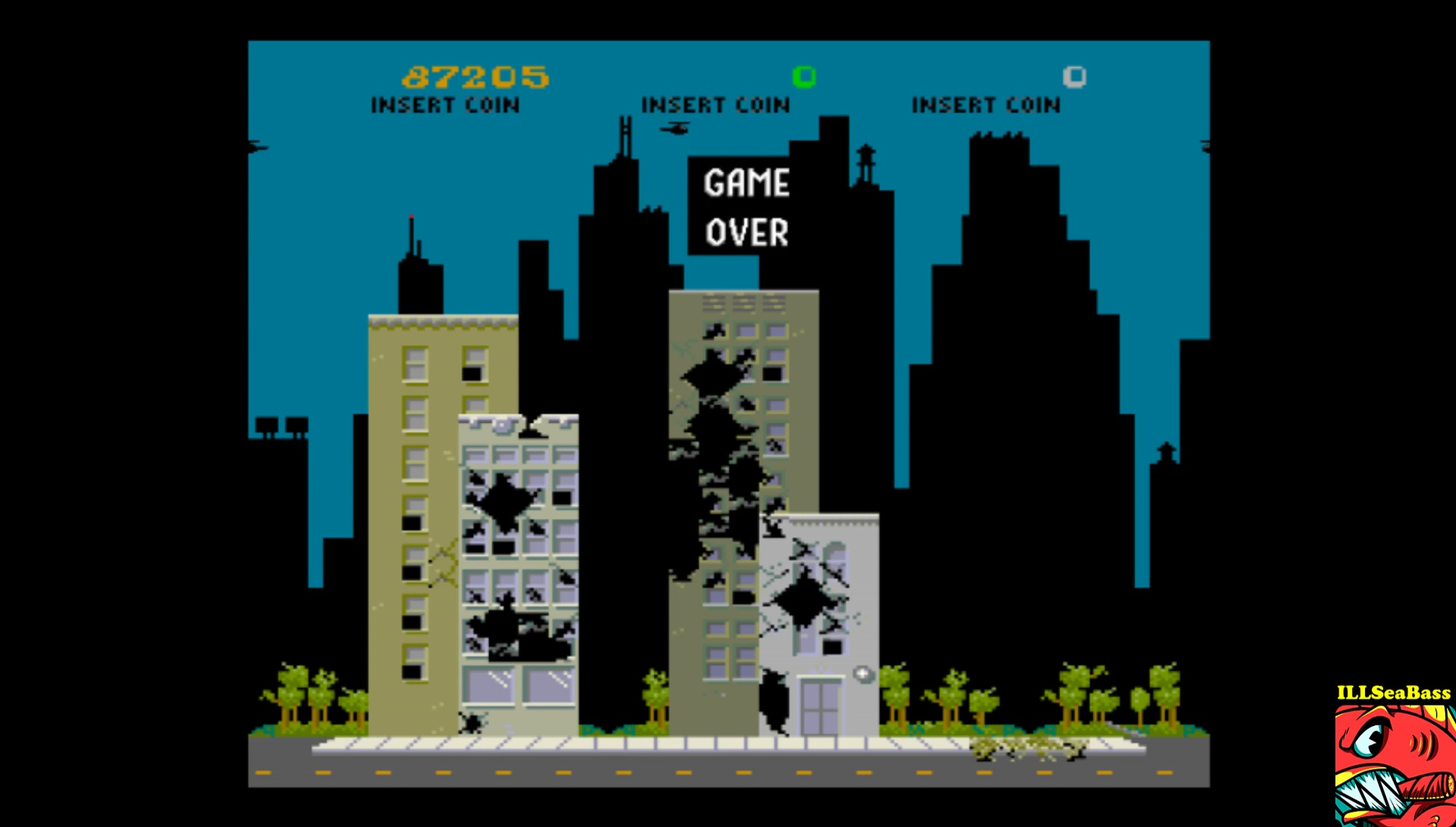 Midway Arcade Treasures: Rampage 87,205 points