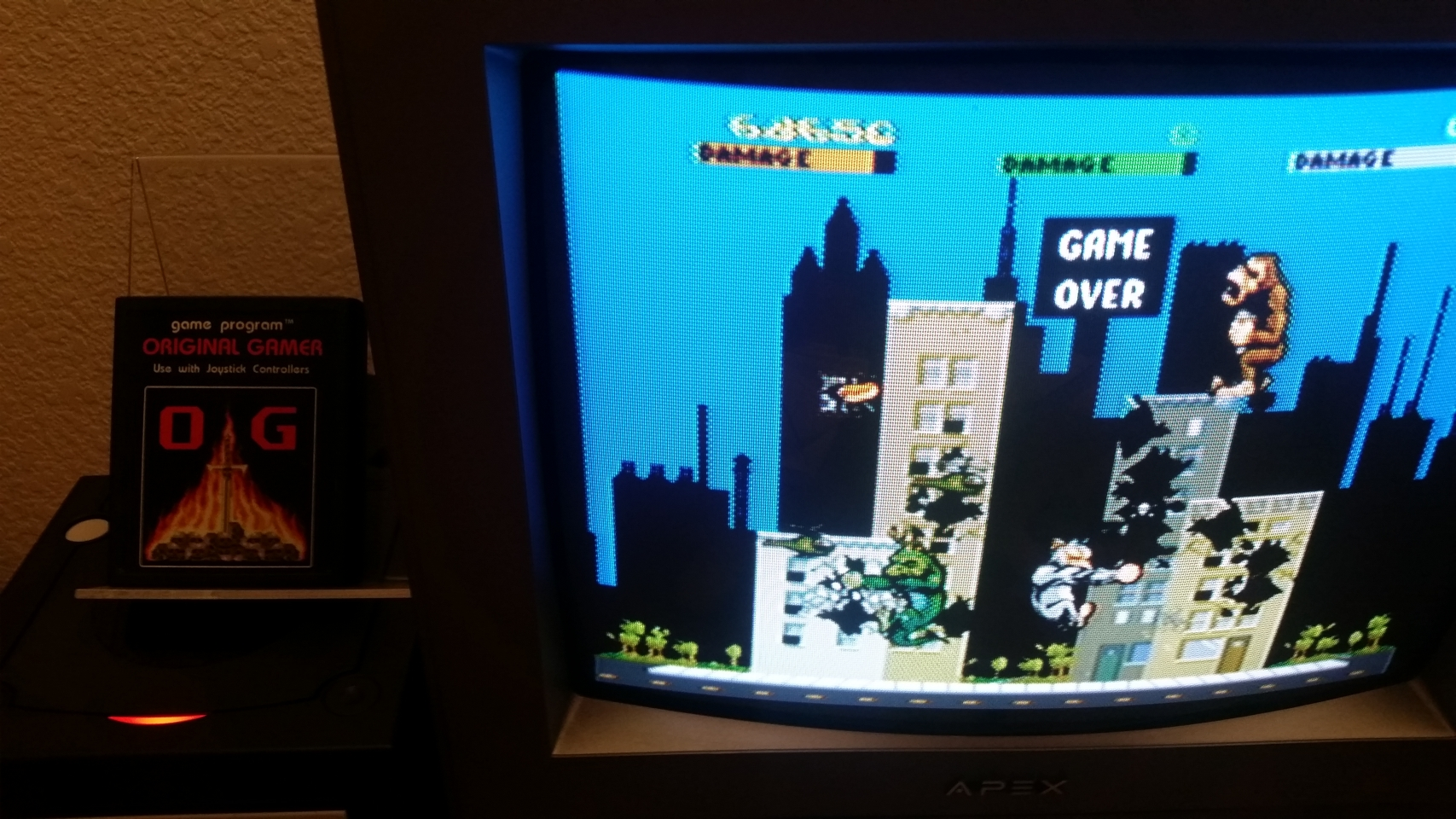 OriginalGamer: Midway Arcade Treasures: Rampage (GameCube) 68,650 points on 2017-12-17 01:23:42