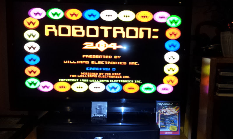 Larquey: Midway Arcade Treasures: Robotron 2084 (Playstation 2) 31,300 points on 2018-01-19 14:59:10