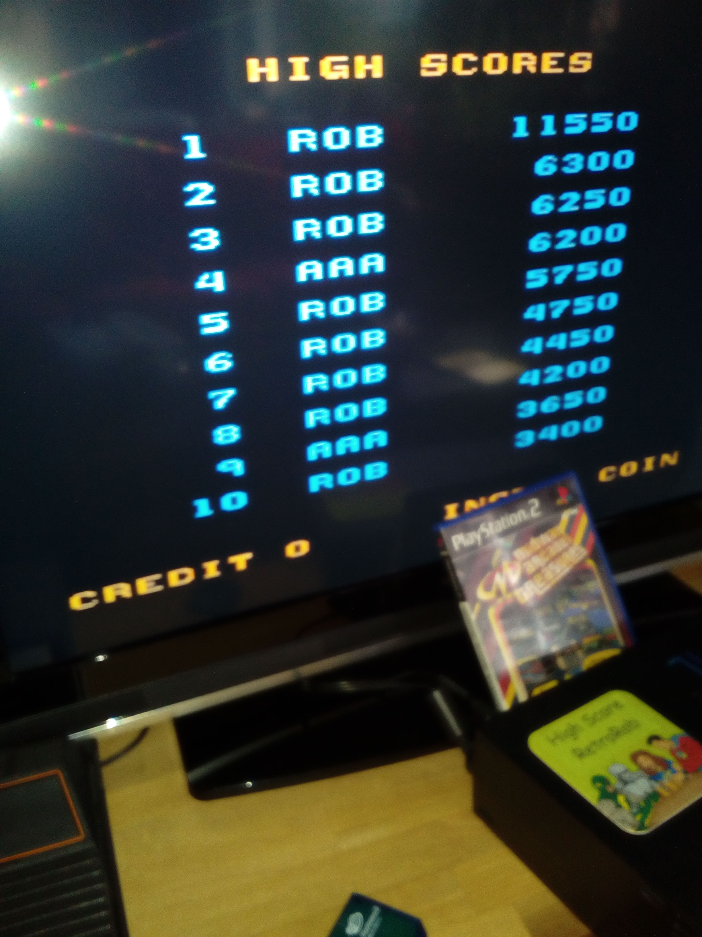 RetroRob: Midway Arcade Treasures: Root Beer Tapper (Playstation 2) 11,550 points on 2018-03-08 11:35:28