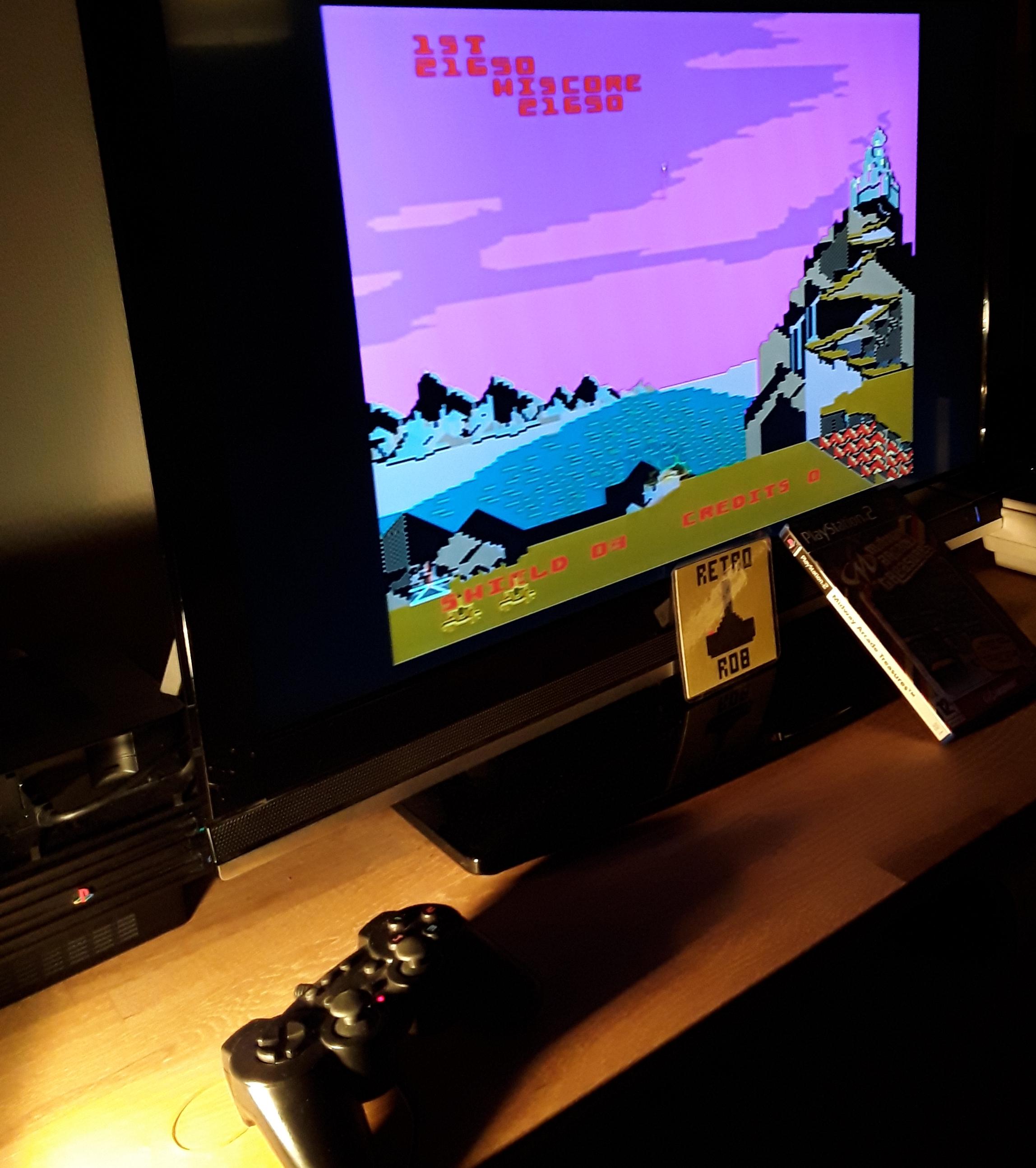 RetroRob: Midway Arcade Treasures: Satan