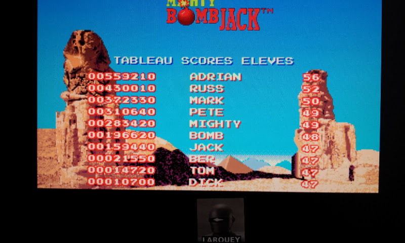 Larquey: Mighty Bomb Jack (Amiga Emulated) 21,550 points on 2017-08-28 11:04:31