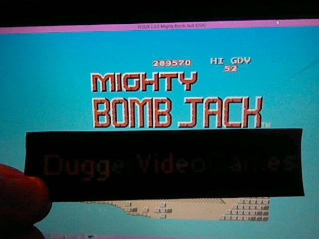 DuggerVideoGames: Mighty Bomb Jack [GDV Score] (NES/Famicom Emulated) 52 points on 2017-11-05 16:47:47