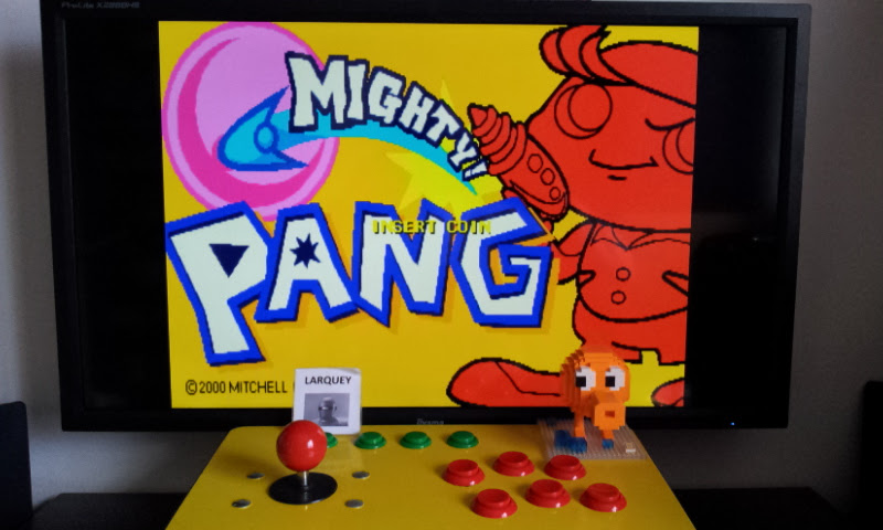 Mighty! Pang [Expert Pro Mode] [mpang] 42,100 points