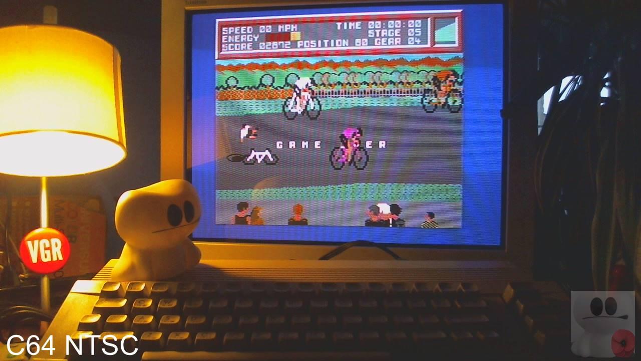 Milk Race 2,872 points