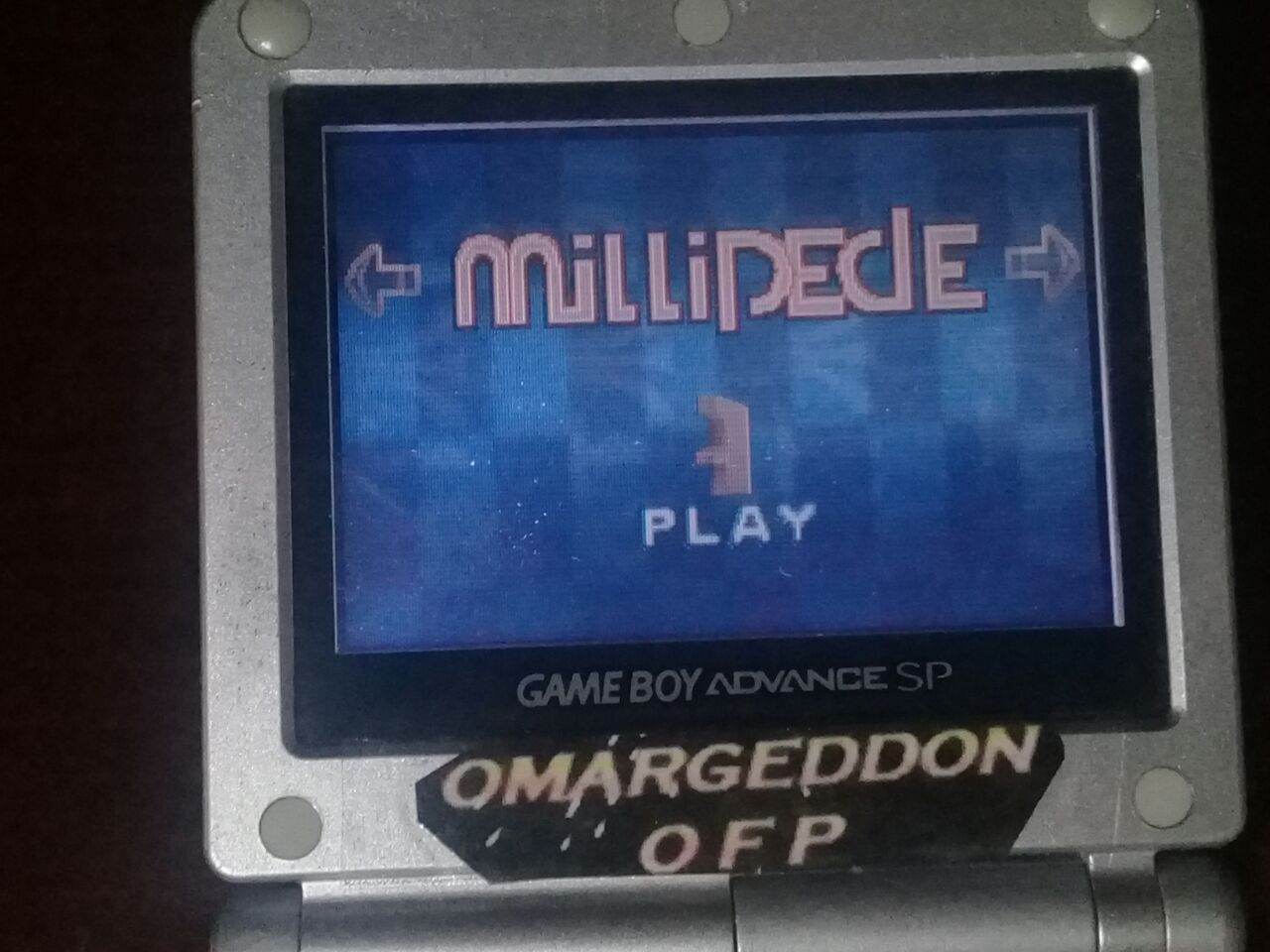 omargeddon: Millipede (GBA) 58,427 points on 2018-01-25 20:36:40