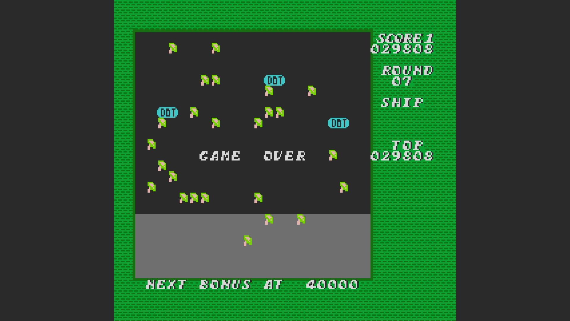 AkinNahtanoj: Millipede: Game B (NES/Famicom Emulated) 29,808 points on 2020-10-12 13:00:14
