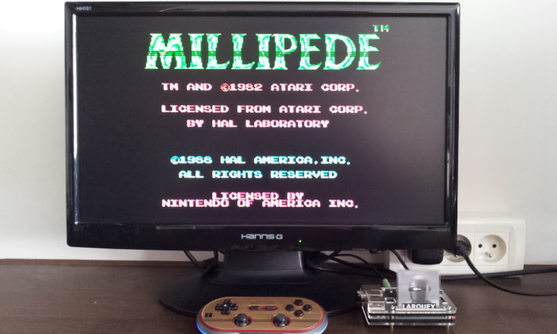 Larquey: Millipede (NES/Famicom Emulated) 48,719 points on 2017-07-28 09:52:48