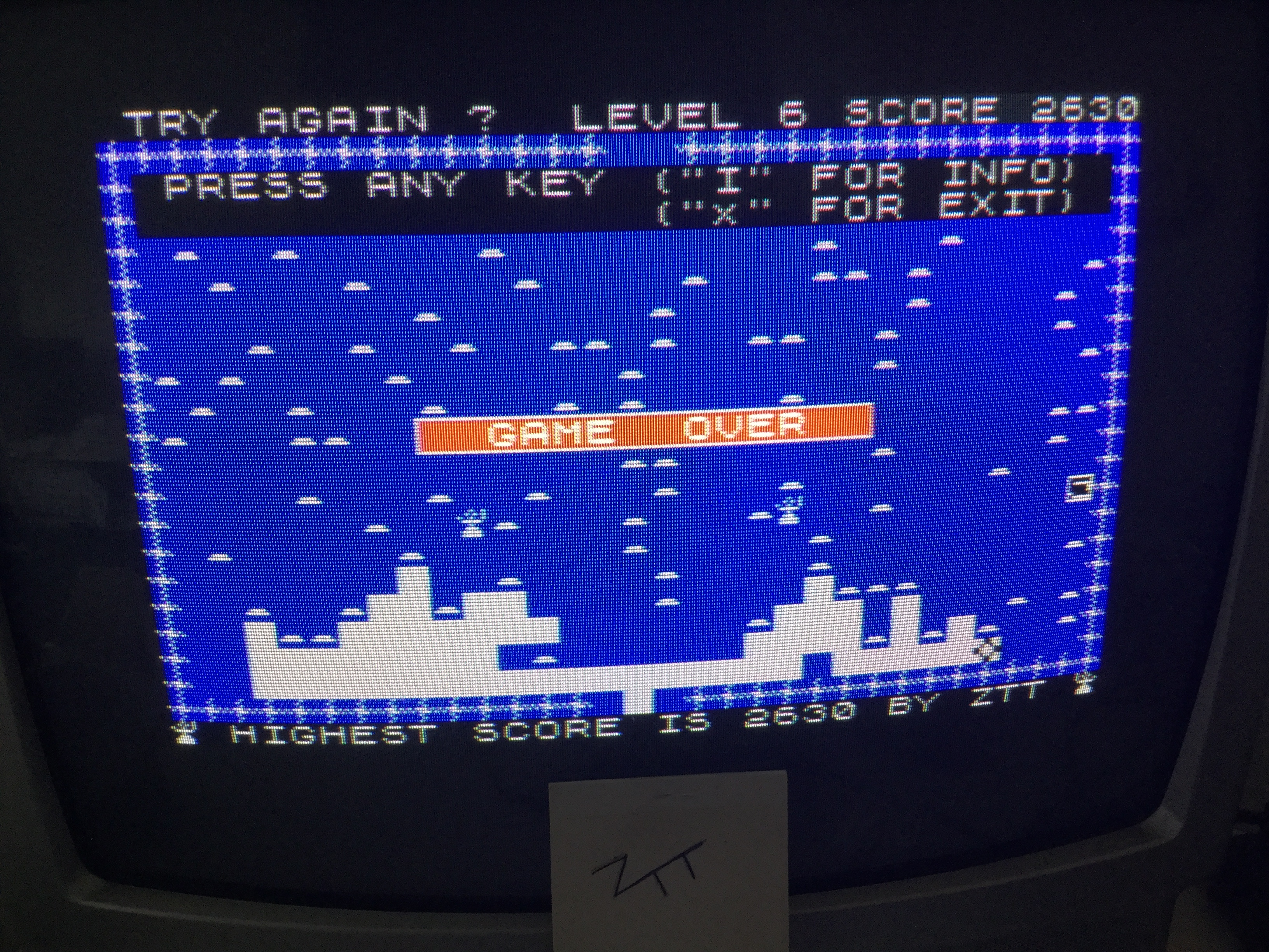 Frankie: Mined-Out (ZX Spectrum) 2,630 points on 2017-06-13 11:38:47