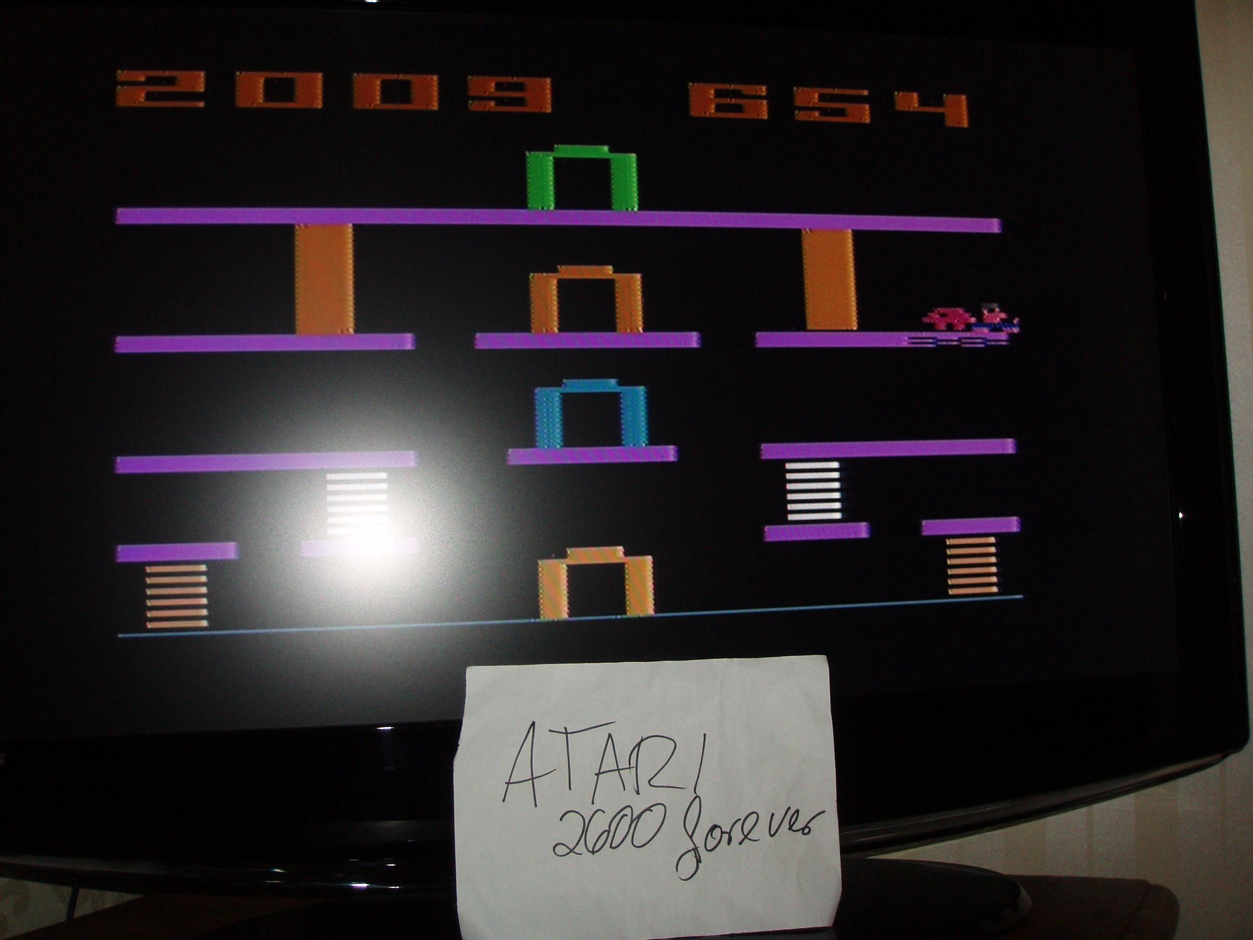 atari2600forever: Miner 2049er (Atari 2600 Novice/B) 2,009 points on 2019-04-04 04:24:15
