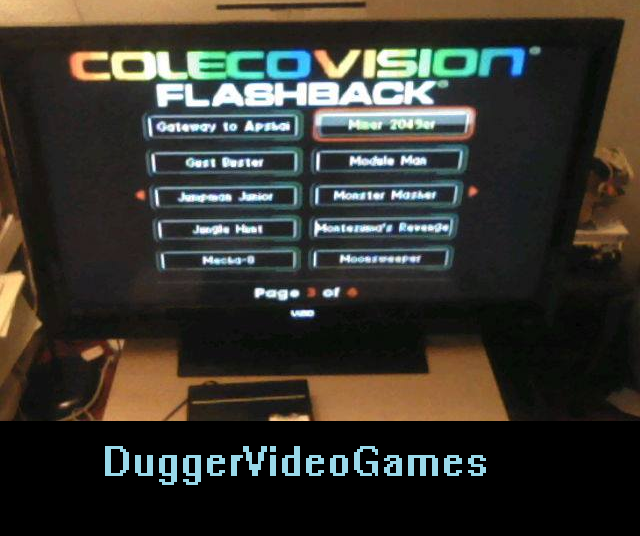 DuggerVideoGames: Miner 2049er (Colecovision Flashback) 13,365 points on 2016-03-26 23:03:16