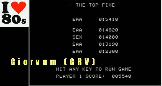 Giorvam: Miner II (Apple II Emulated) 5,540 points on 2018-01-18 05:18:43