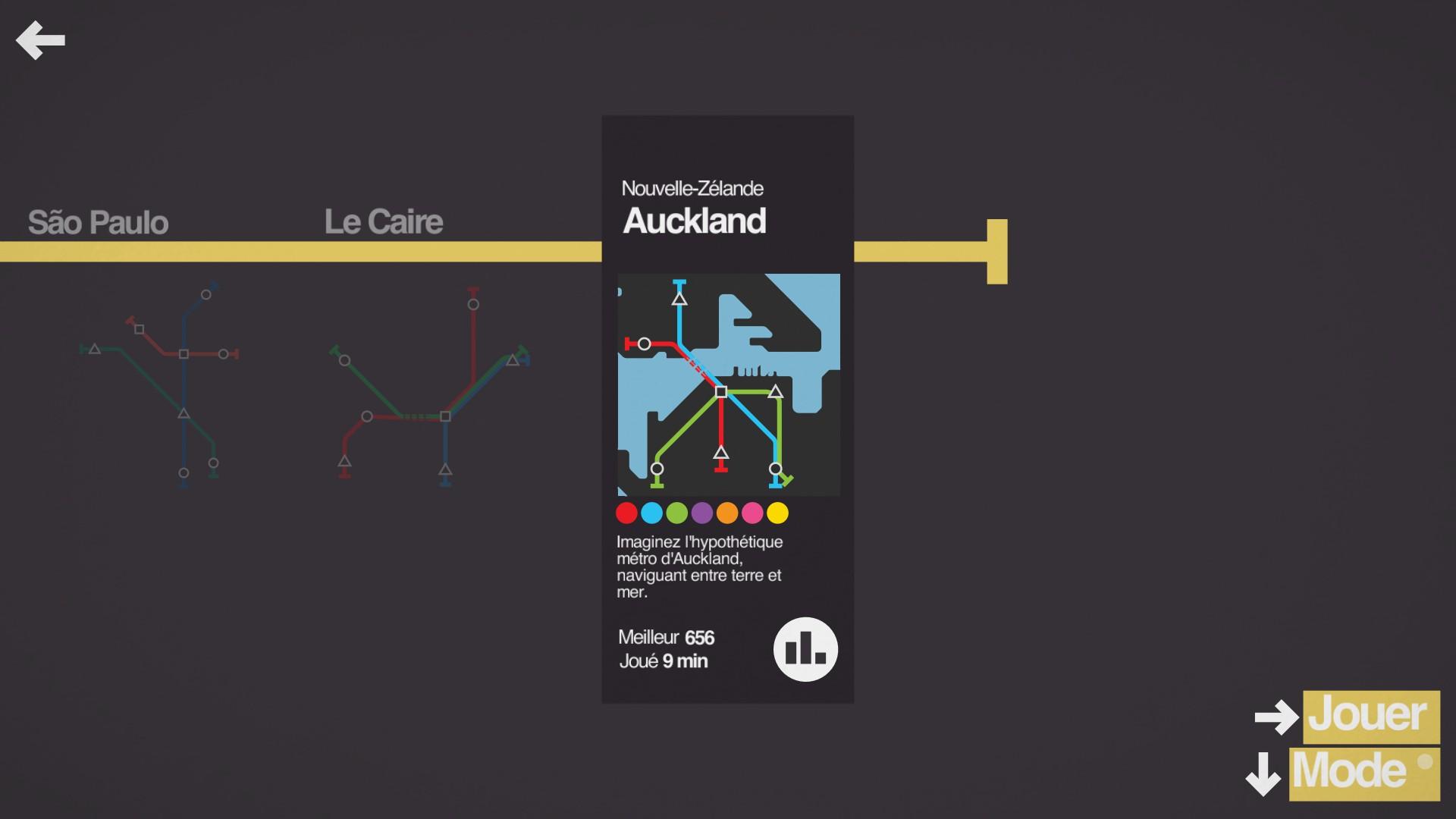 Mantalow: Mini Metro [Auckland] (PC) 656 points on 2015-09-30 13:16:00