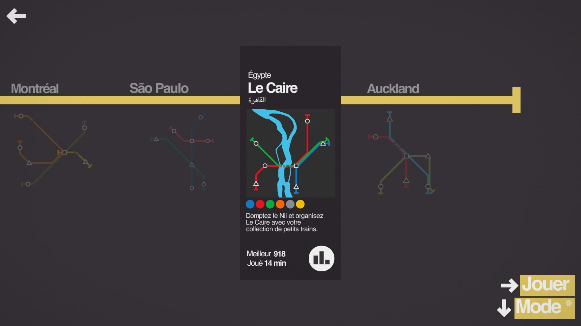 Mantalow: Mini Metro [Cairo] (PC) 918 points on 2015-09-30 13:15:16