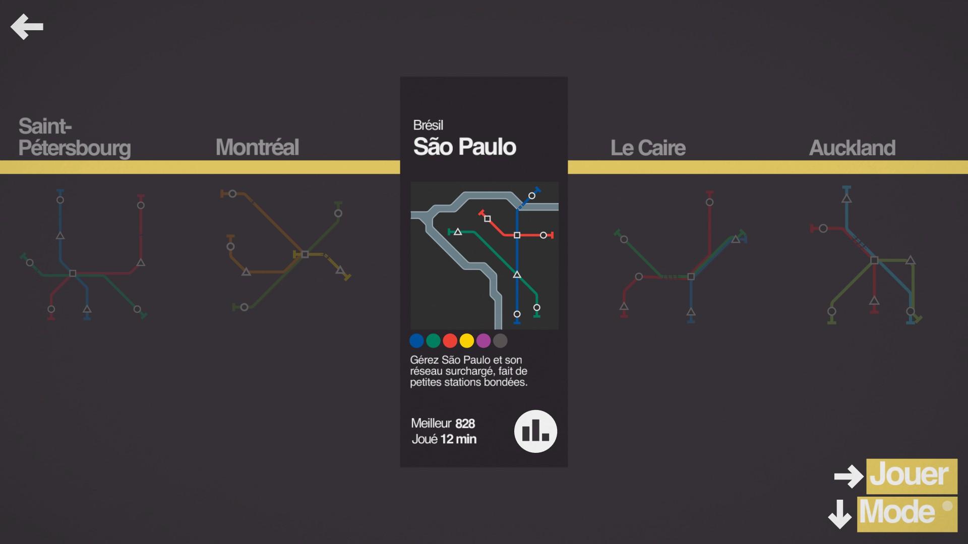 Mantalow: Mini Metro [São Paulo] (PC) 828 points on 2015-09-30 13:14:12