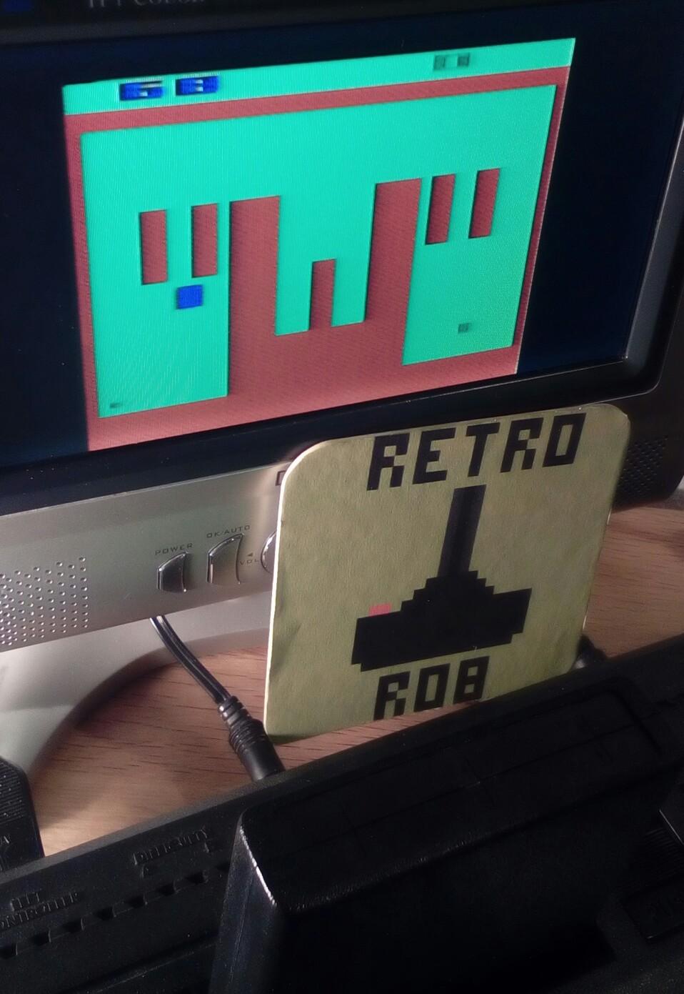 RetroRob: Miniature Golf (Atari 2600) 68 points on 2018-12-26 16:08:37