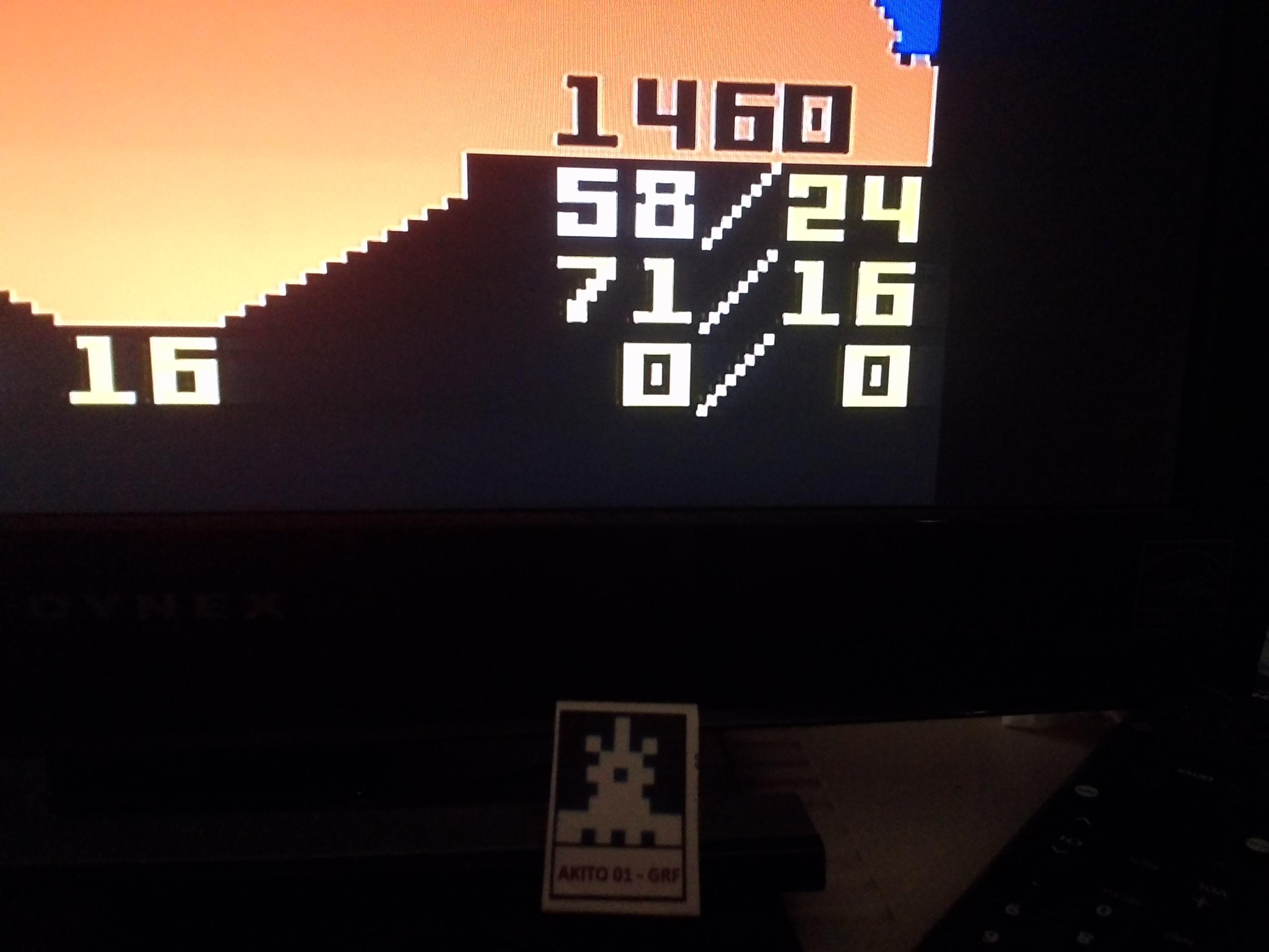 Akito01: Minotaur: Game 3 [Easiest] (Intellivision Flashback) 1,460 points on 2017-06-14 20:58:27