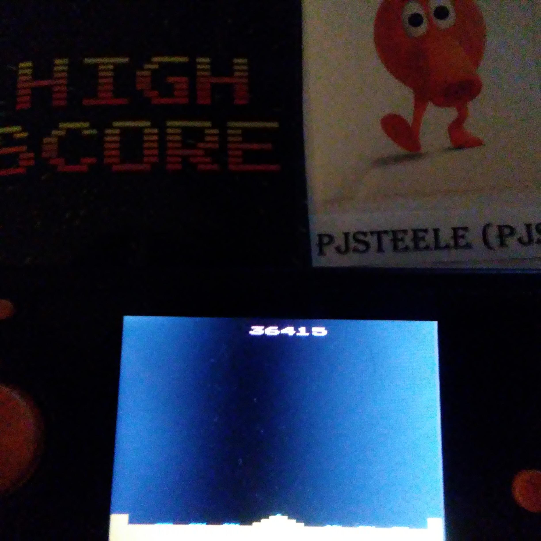 Pjsteele: Missile Command (Atari 2600 Emulated Novice/B Mode) 36,415 points on 2018-01-06 08:38:59