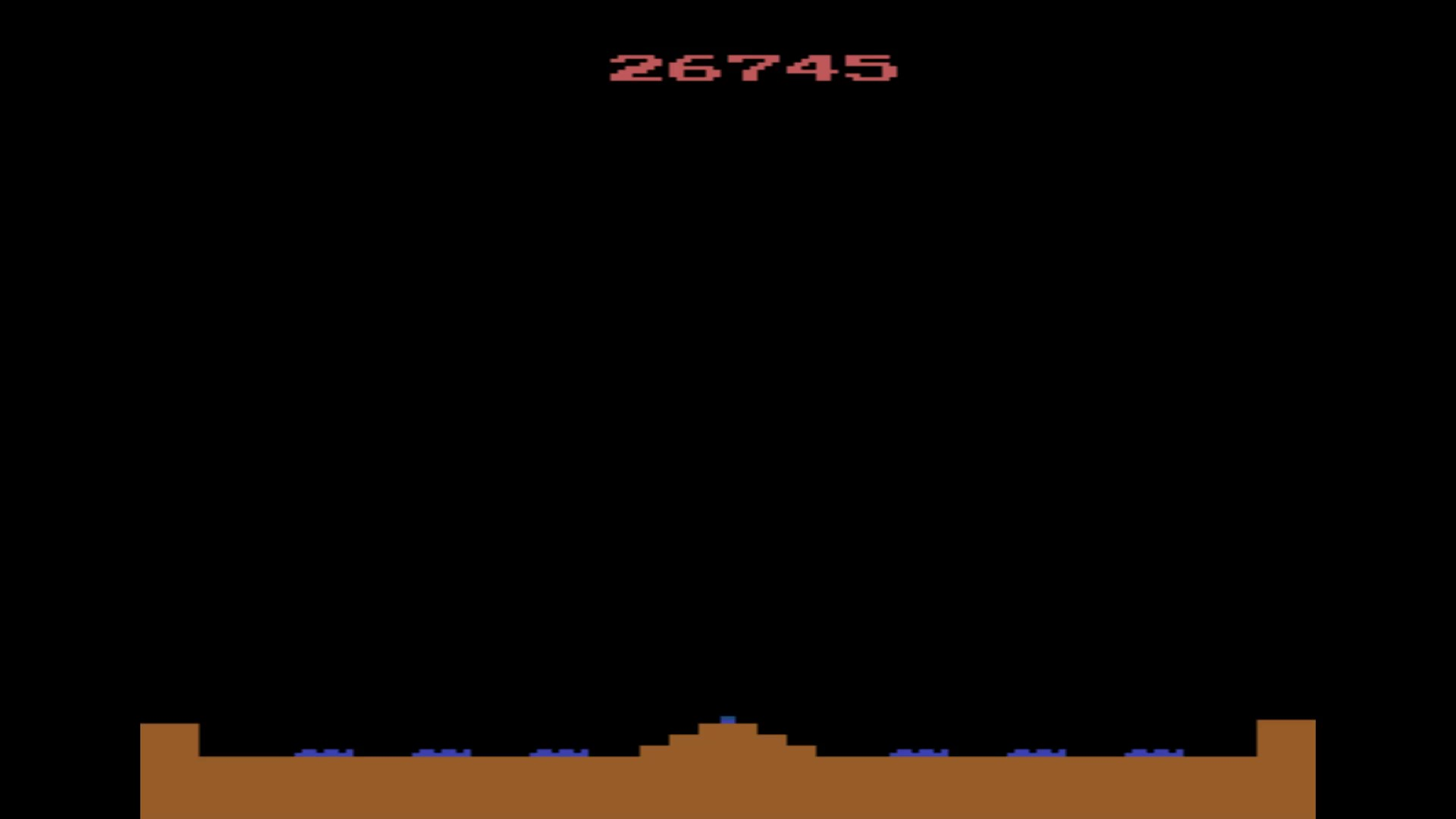 Missile Command 26,745 points