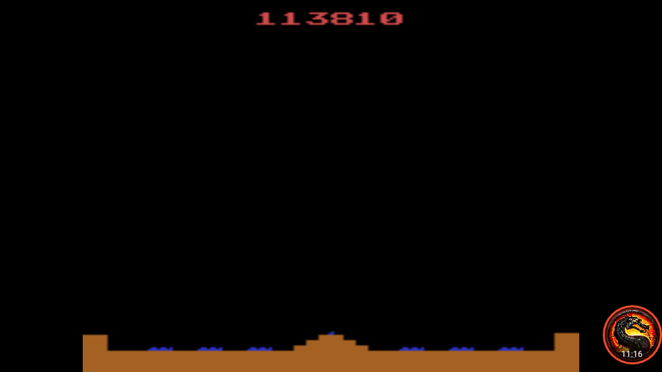omargeddon: Missile Command (Atari 2600 Emulated Novice/B Mode) 113,810 points on 2020-08-21 01:32:21