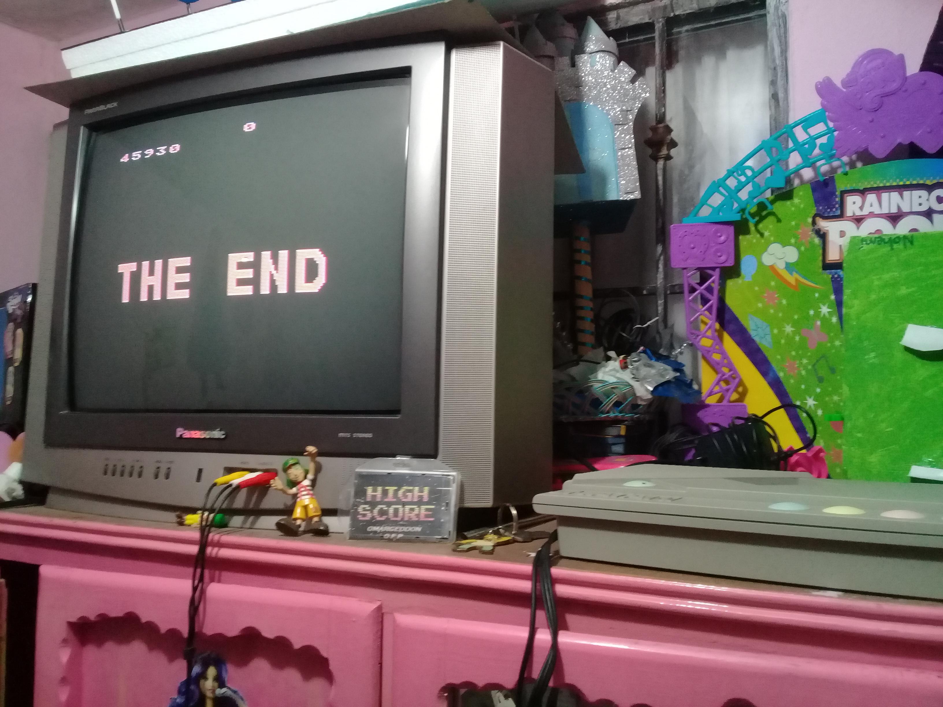 omargeddon: Missile Command (Atari 400/800/XL/XE) 45,930 points on 2019-01-08 19:28:08