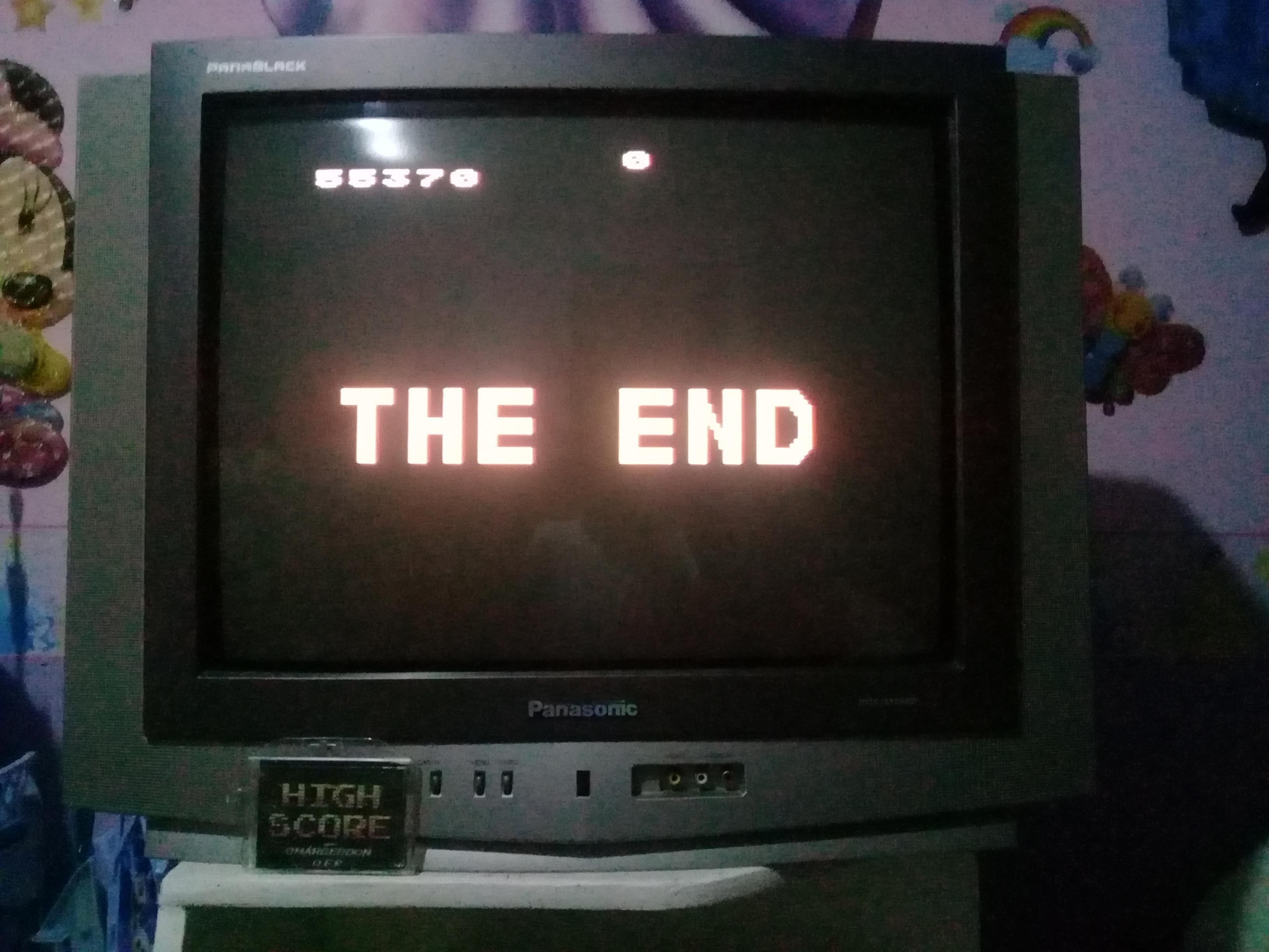 omargeddon: Missile Command (Atari 400/800/XL/XE) 55,370 points on 2019-05-06 19:03:22