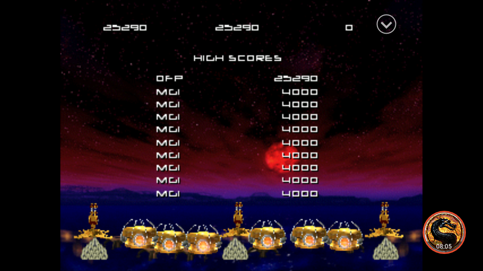 Missile Command: Classic [Level 1] 25,290 points