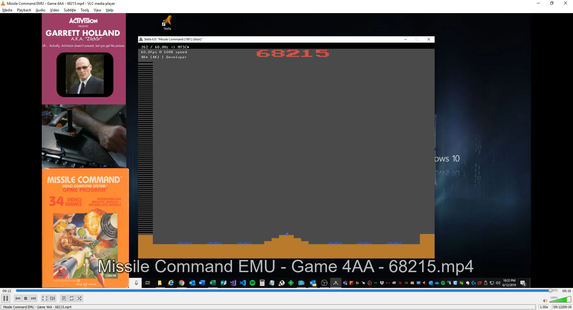 ZilchSr: Missile Command: Game 4 (Atari 2600 Emulated Expert/A Mode) 68,215 points on 2019-06-12 21:26:01