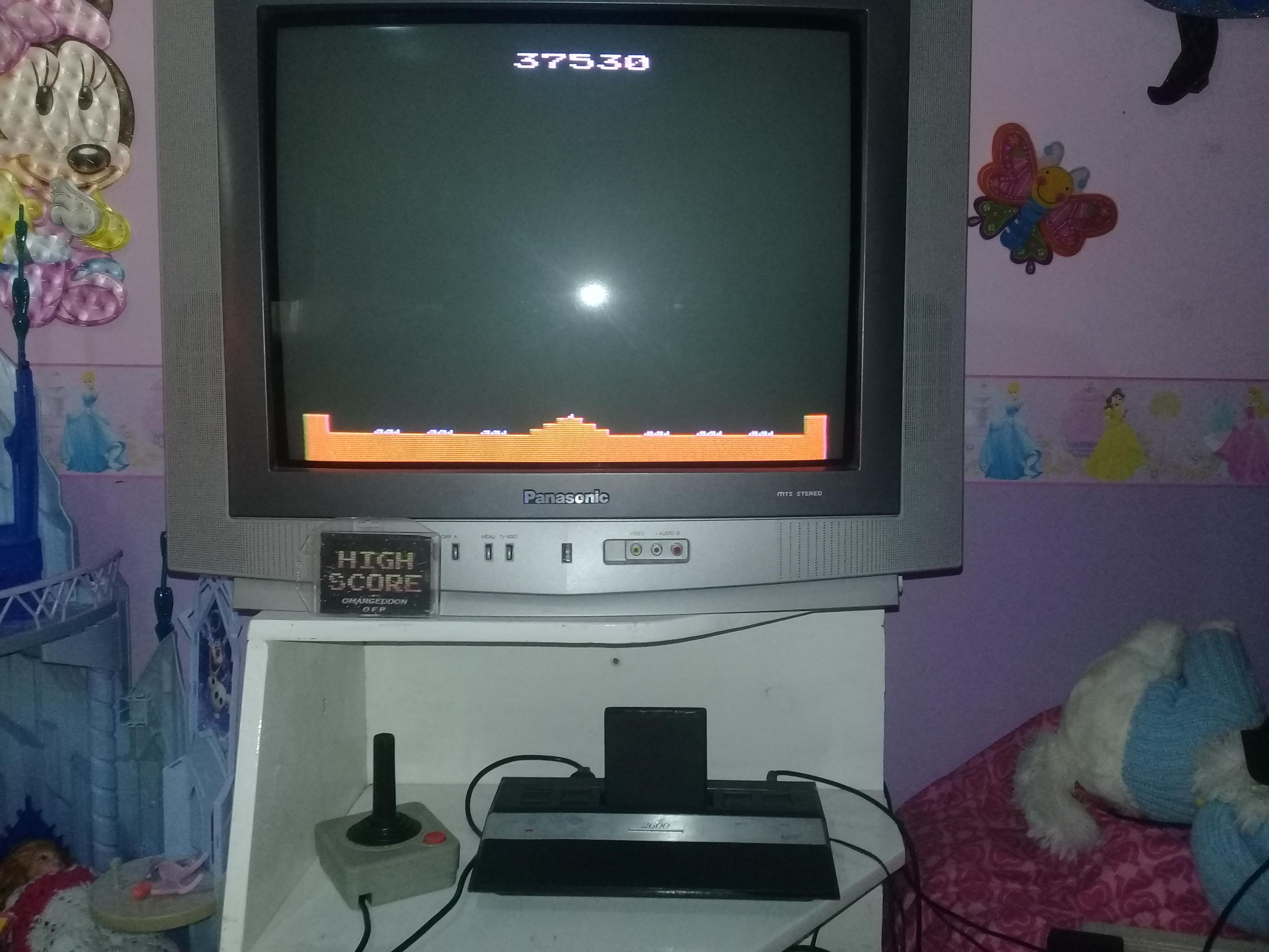 omargeddon: Missile Command: Game 9 (Atari 2600 Novice/B) 37,530 points on 2019-05-06 17:17:21
