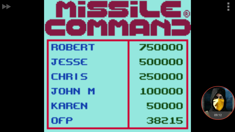omargeddon: Missile Command (Game Boy Color Emulated) 38,215 points on 2018-01-20 21:23:25