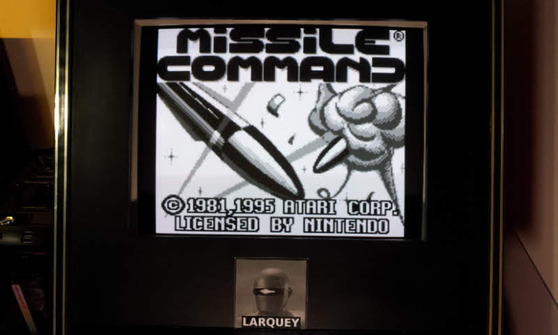 Larquey: Missile Command (Game Boy Emulated) 37,390 points on 2018-11-02 13:26:19