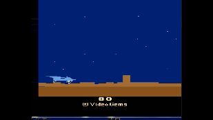 S.BAZ: Mission Survive (Atari 2600 Emulated) 80 points on 2020-06-04 14:34:14