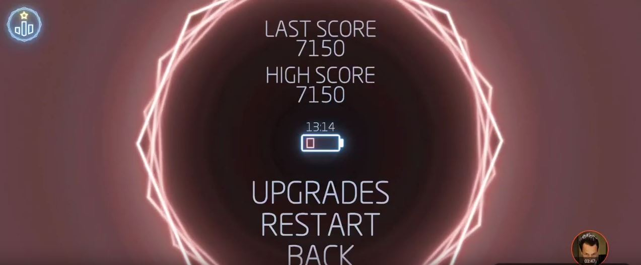 Missle Command: Recharged 7,150 points