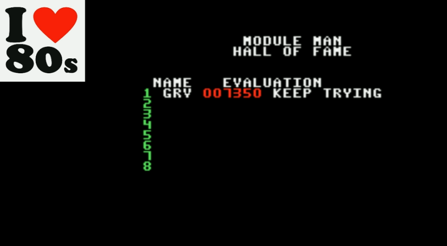 Giorvam: Module Man (Colecovision Emulated) 7,350 points on 2018-02-05 14:44:49