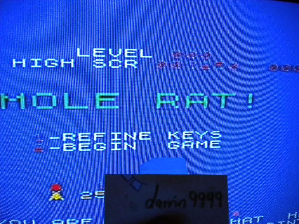 Mole Rat! 3,250 points