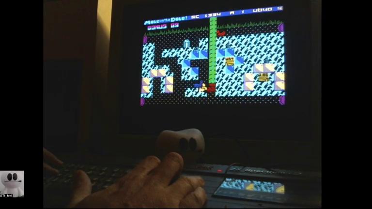 GTibel: Mole on the Dole (ZX Spectrum) 1,334 points on 2017-12-01 13:38:59