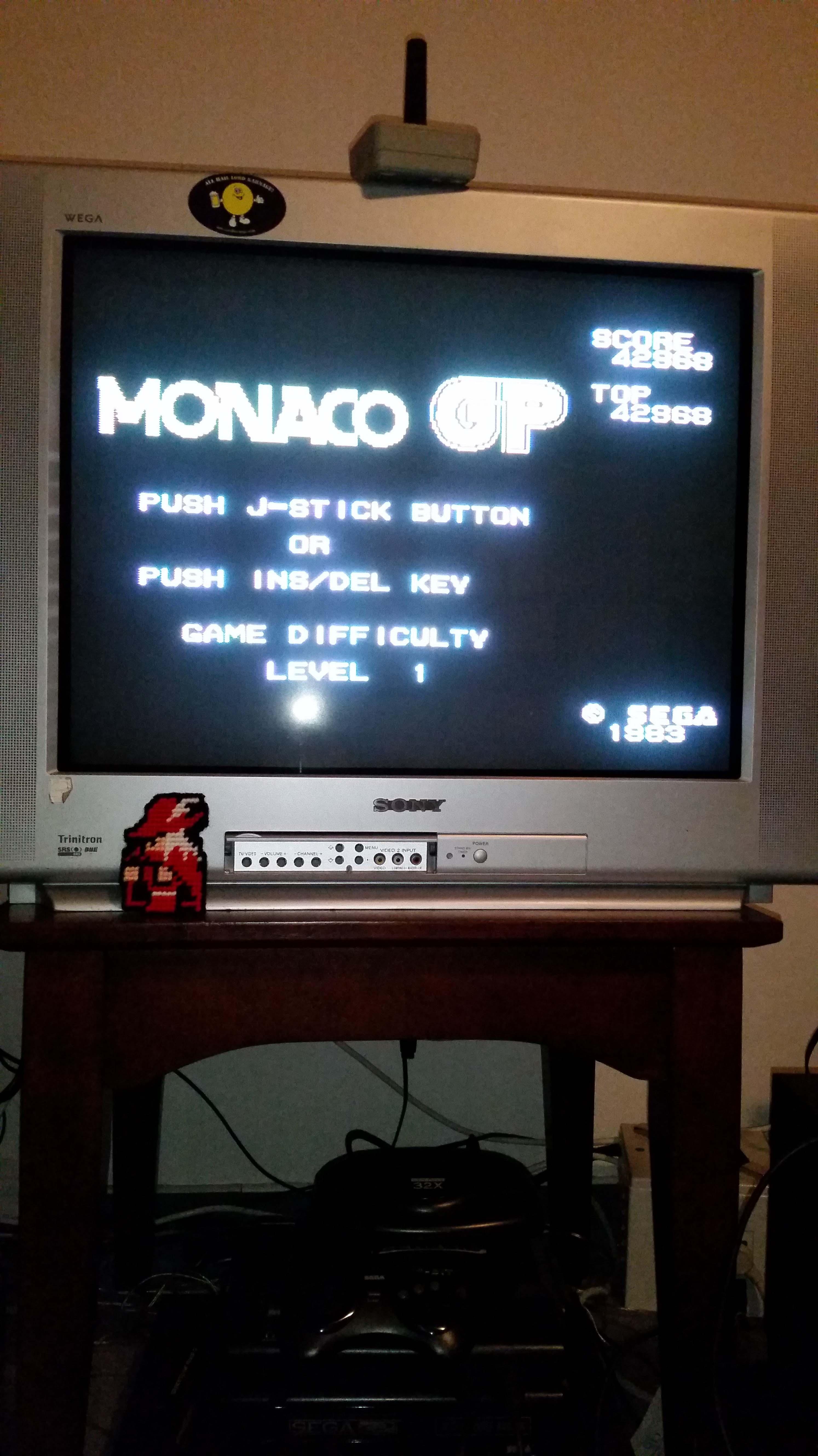 Monaco GP [Level 1] 42,968 points
