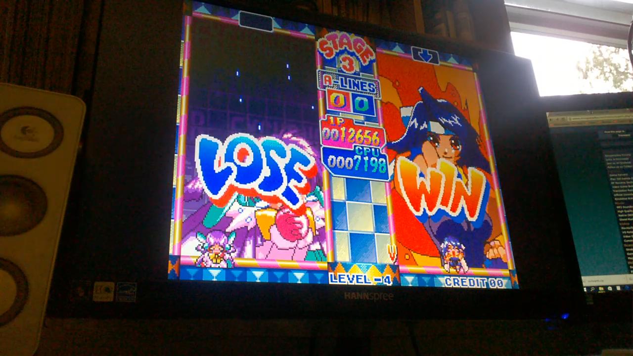 vigorousjammer: Money Puzzle Exchanger / Money Idol Exchanger [VS Com] (Neo Geo Emulated) 12,656 points on 2015-08-23 17:55:43