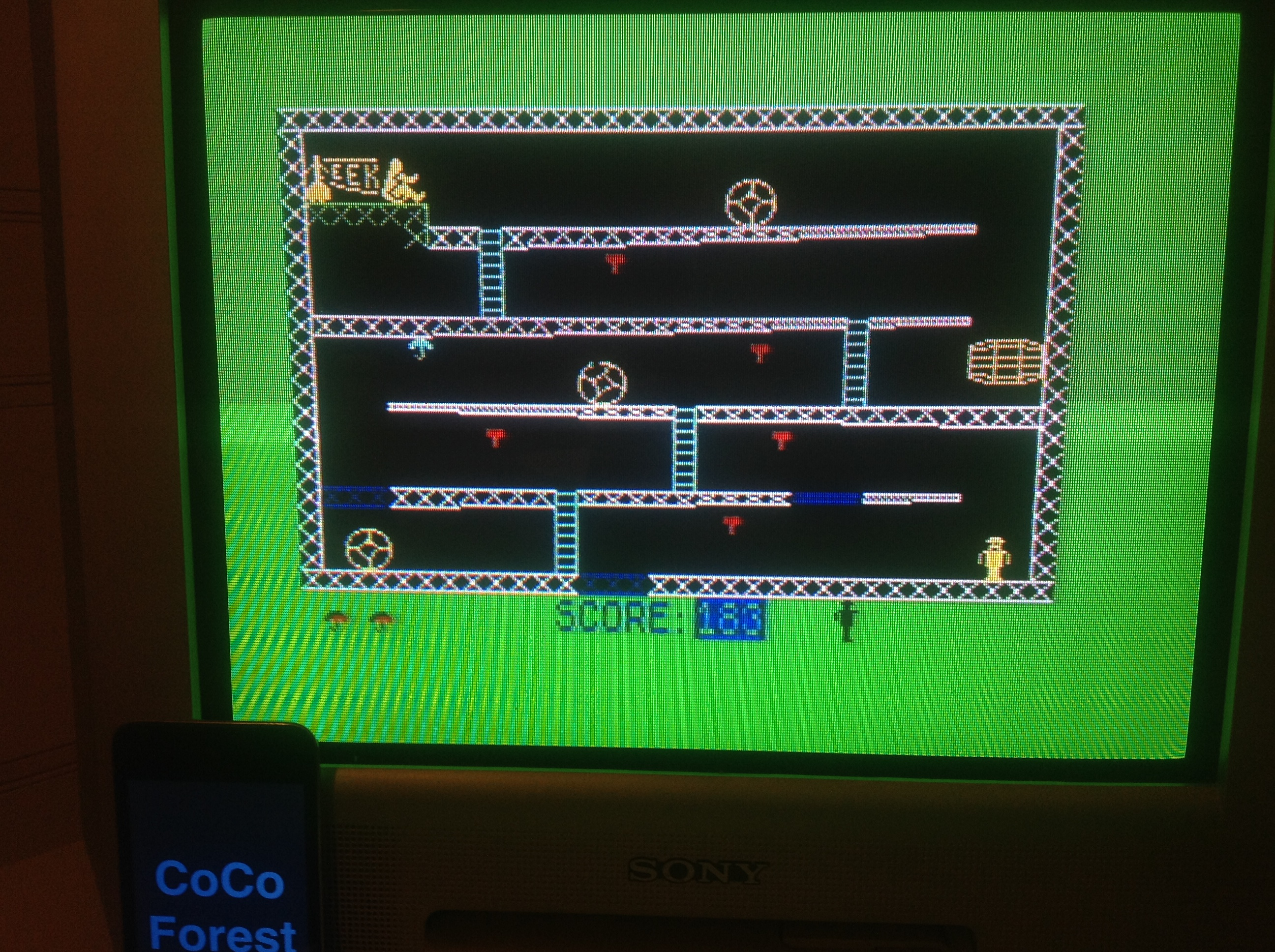 CoCoForest: Monkey Biznes (ZX Spectrum) 183 points on 2016-01-20 11:21:03