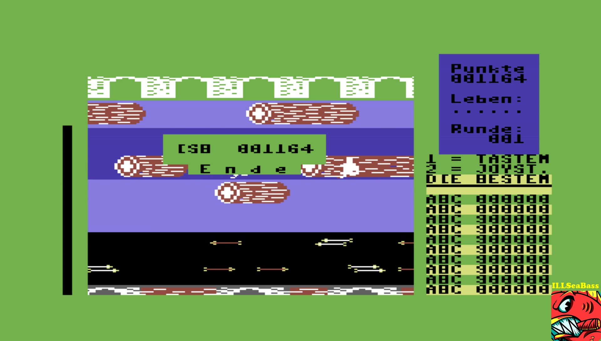 ILLSeaBass: Monkey Street (Commodore 64 Emulated) 1,164 points on 2017-06-01 13:01:13