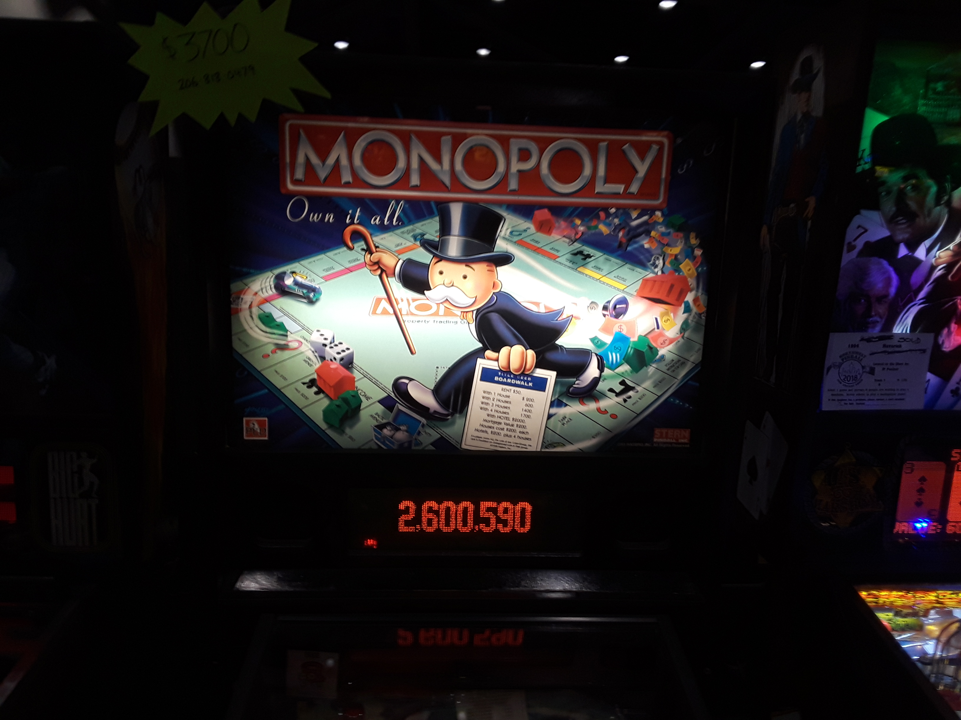Monopoly 2,600,590 points