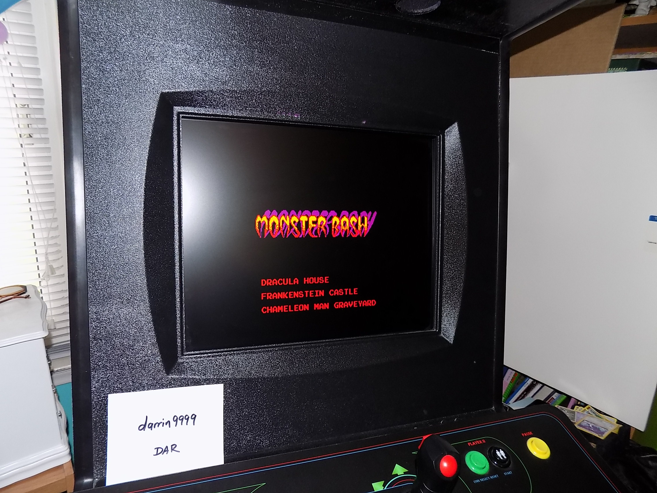 darrin9999: Monster Bash (Arcade Emulated / M.A.M.E.) 3,800 points on 2018-05-10 13:27:11