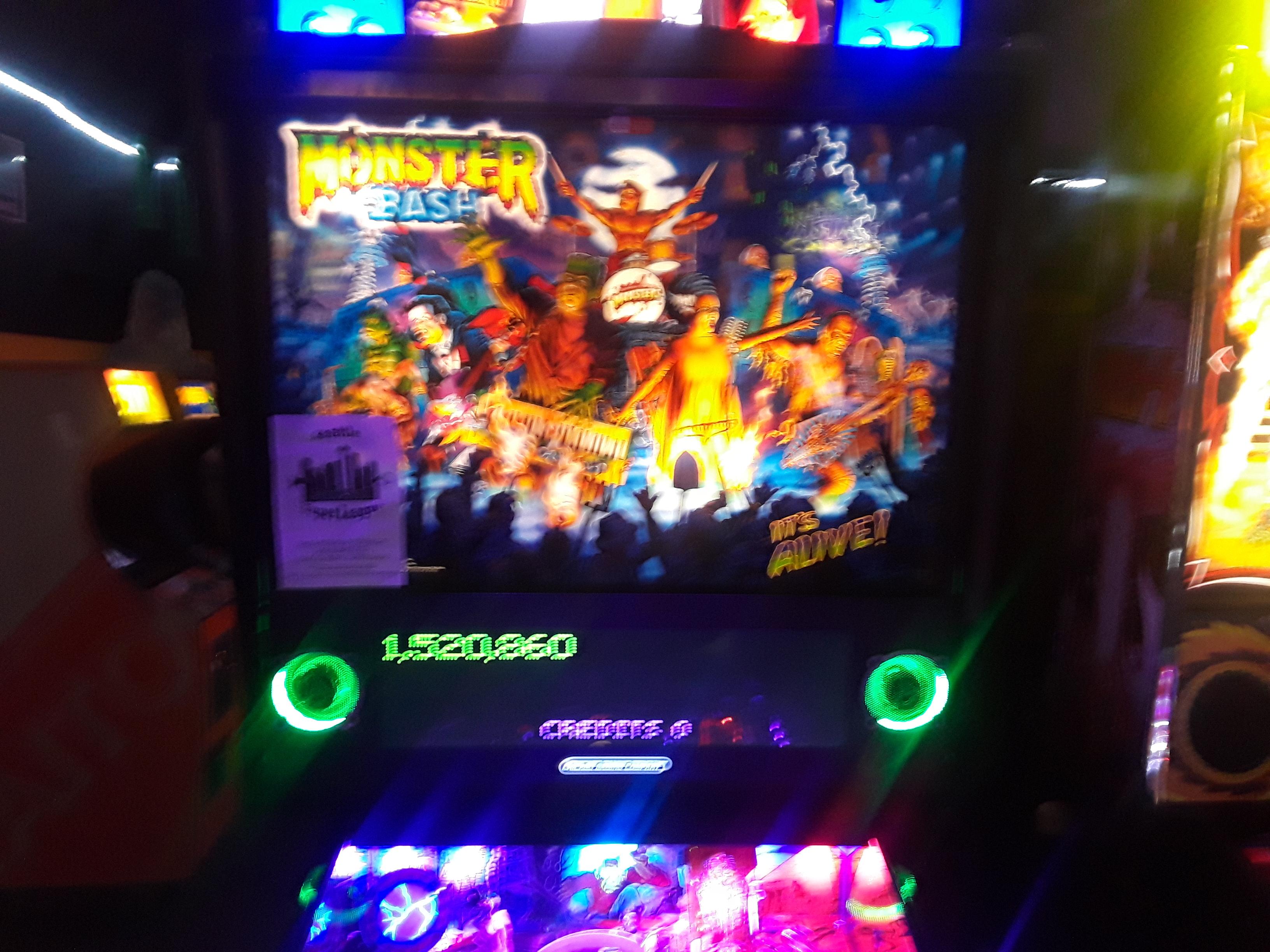 Monster Bash 1,520,860 points