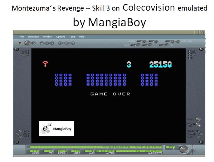 MangiaBoy: Montezuma