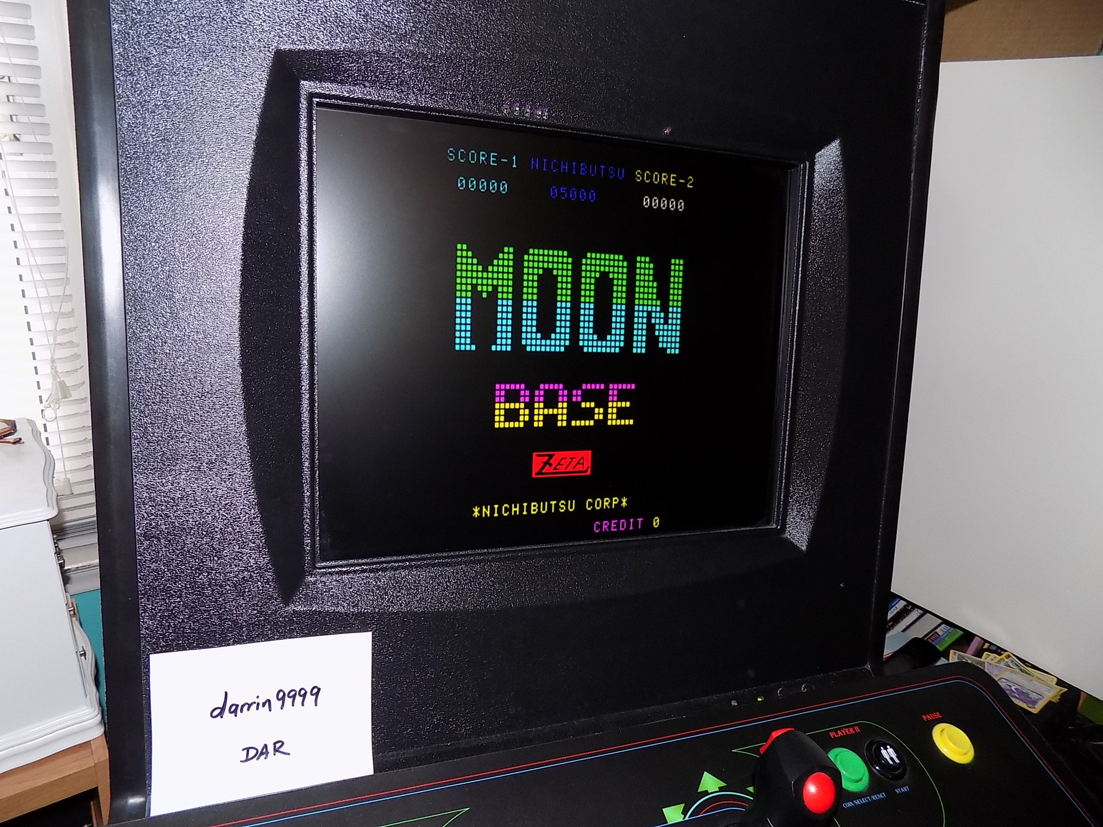 darrin9999: Moon Base [moonbase] (Arcade Emulated / M.A.M.E.) 1,790 points on 2018-05-10 13:31:21