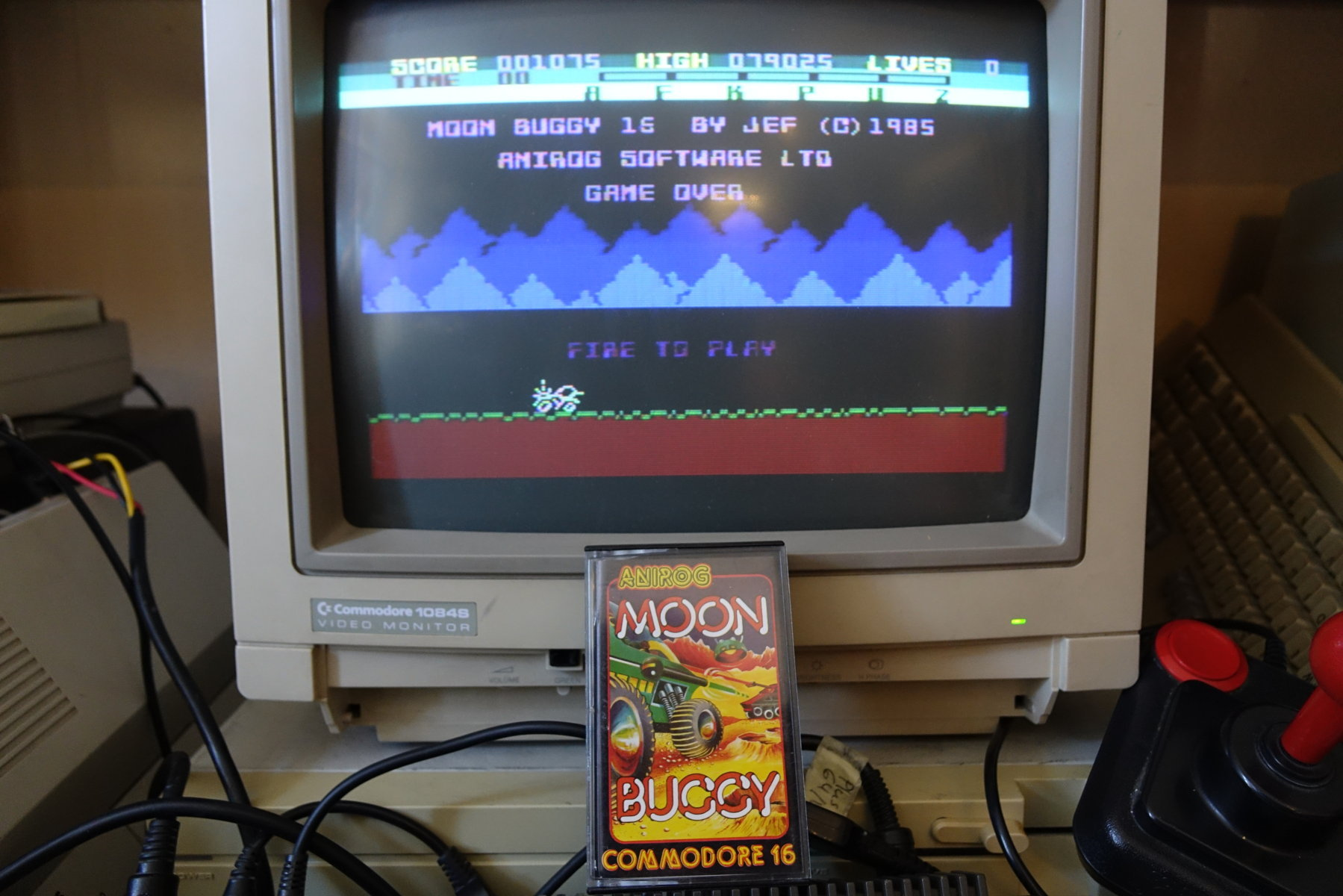 plus4punk: Moon Buggy (Commodore 16/Plus4) 79,025 points on 2020-04-22 15:42:09