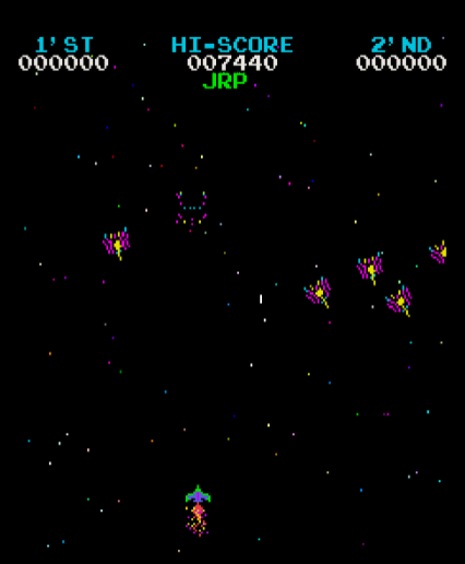 alpha: Moon Cresta (Arcade) 7,440 points on 2020-01-04 13:53:41