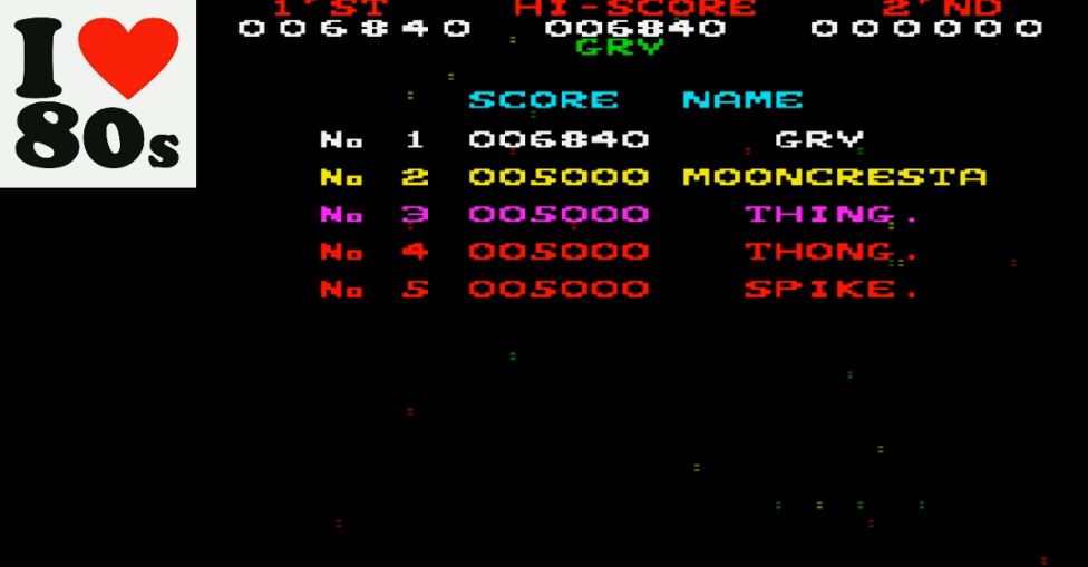 Moon Cresta 6,840 points